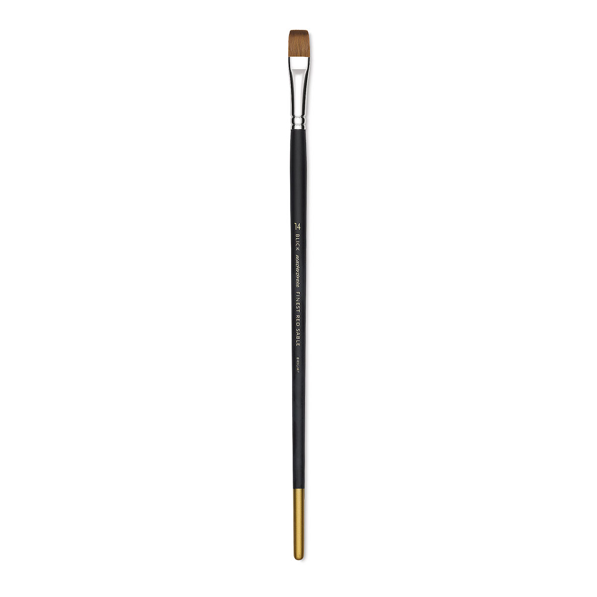 Blick Masterstroke Finest Red Sable Brush - Bright, Size 14, Long Handle