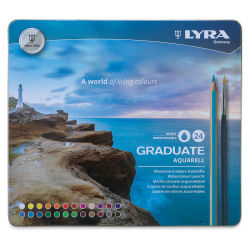 Lyra Graduate Aquarell Pencils - Set of 24