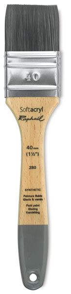 Series 8702 Acrylic /& Thick Medium Brush Size 12 Raphael Textura Heavy Duty Synthetic Filbert