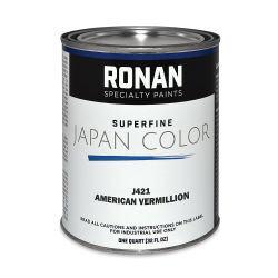 Ronan Superfine Japan Color - American Vermilion, Quart