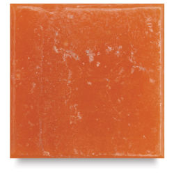 Mosaic Studio Venetian Glass Tiles - 3/4'', Tangerine, 8 oz