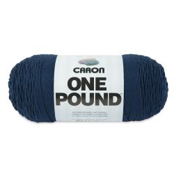 Caron One Pound Acrylic Yarn - 1 lb, 4-Ply, Ocean Blue