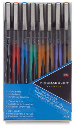 Prismacolor Premier Illustration Marker Set - 01, Fine Line