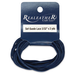 Suede Lace - 3/32'' x 6 ft, Cadet Blue