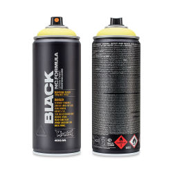 Montana Black Spray Paint - True Yellow 50%, 400 ml can