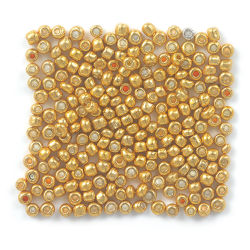 Gold Metallic Seed Beads