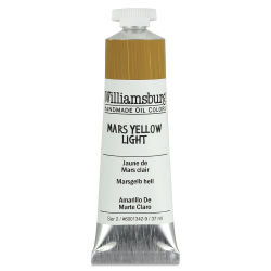 Williamsburg Handmade Oil Paint - Mars Yellow Light, 37 ml tube