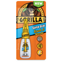 Gorilla Super Glue Brush & Nozzle - 0.04 oz