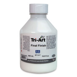 Tri-Art Final Finish Medium - Semi Gloss, 500 ml, Bottle