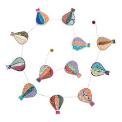 Giftsland Paper Garland - Hot Hair Balloons