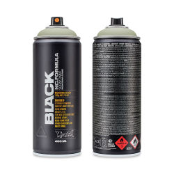 Montana Black Spray Paint - Hannible, 400 ml can