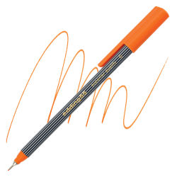 Edding 55 Fineliner Pen - Orange, 0.3mm