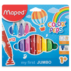 Maped Color'Peps My First Jumbo Markers - Pkg of 12