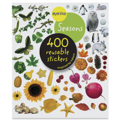 Eyelike Seasons Reusable Stickers, Book Cover