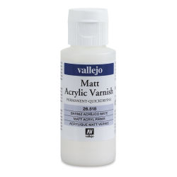 Vallejo Permanent Acrylic Varnish - Matte, 60 ml