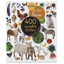 Eyelike Farm Reusable Stickers, Book Cover