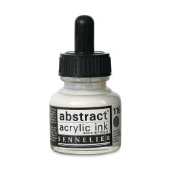 Sennelier Abstract Acrylic Ink - Titanium White, 1 oz