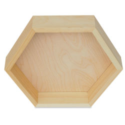 Walnut Hollow Pine Hexagon, Large