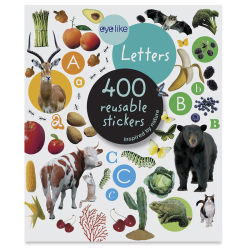 Eyelike Letters Reusable Stickers, Book Cover