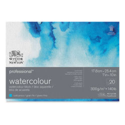 "Winsor & Newton Professional Watercolor Block - 7"" x 10"", Cold Press"