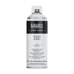 Liquitex Professional Spray Paint - Neutral Gray 8, 400 ml can