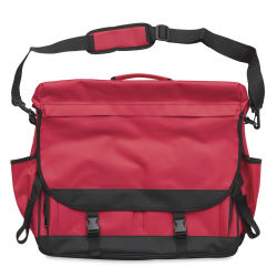 Royal Art Satchel, Red w/Black Trim - 17 1/2 x 22