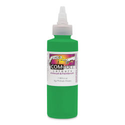 Iwata Com-Art Airbrush Color - 4 oz, Opaque Phthalo Green