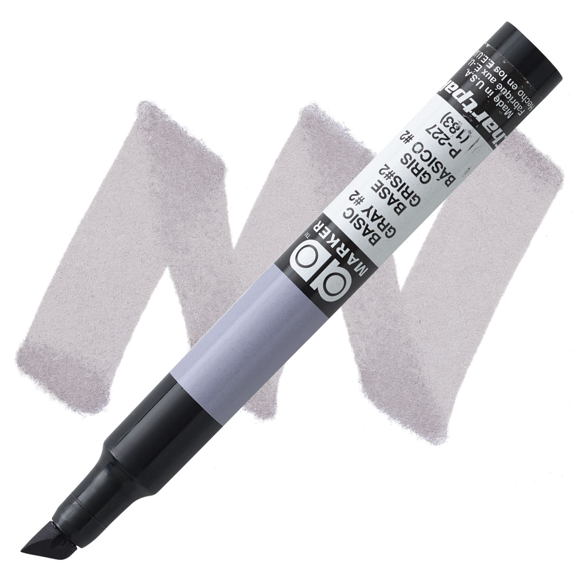 P227 Basic Grey 2 Chartpak Markers 6-pack
