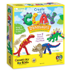 Faber-Castell Creativity for Kids Create with Clay - Dinosaurs