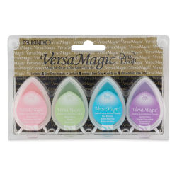 Tsukineko VersaMagic Dew Drop Ink Pads - Set of 4, Pretty Pastels