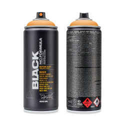 Montana Black Spray Paint - Infra Orange, 400 ml can