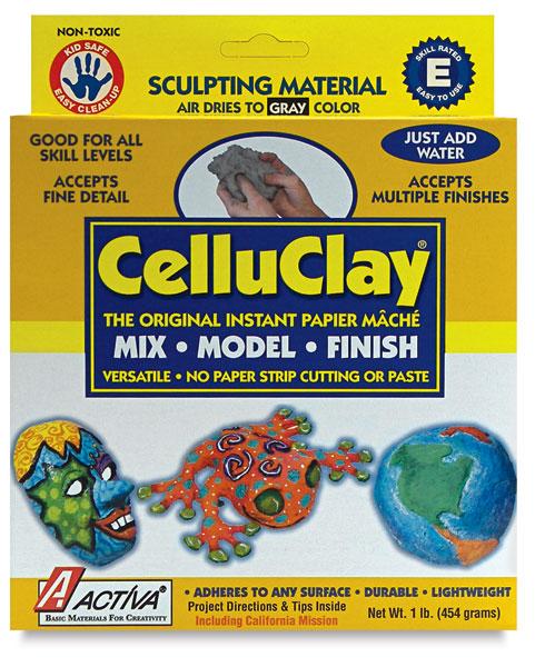 5 Pound White ACTIVA CelluClay Instant Papier Mache