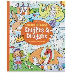 Ooly Color-In' Coloring Book - Knights and Dragons