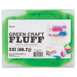 Darice Craft Fluff - Green