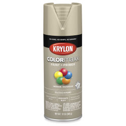 Krylon Colormaxx Spray Paint - Khaki, Gloss, 12 oz