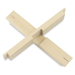 Cross Braces (Two Shown - Not pre-notched, purchased separately) A custom order is required for notched cross braces