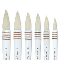 Silver Brush Atelier Quill Series Goat Hair Brushes