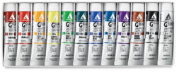 Holbein Acryla Gouache - Lesson Set, Set of 12 colors, 20 ml Tubes
