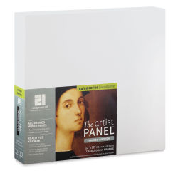 Ampersand Value Series Artist Panel - Smooth, 12'' x 12'', 1-1/2'' Cradle