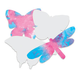 Butterflies Shapes, Pkg of 48