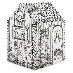 Bankers Box Cardboard Playhouse - Unicorn