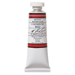 M. Graham Artists' Watercolor - Cadmium Red, 15 ml Tube