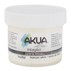 Akua Intaglio Ink - Titanium White, 59 ml