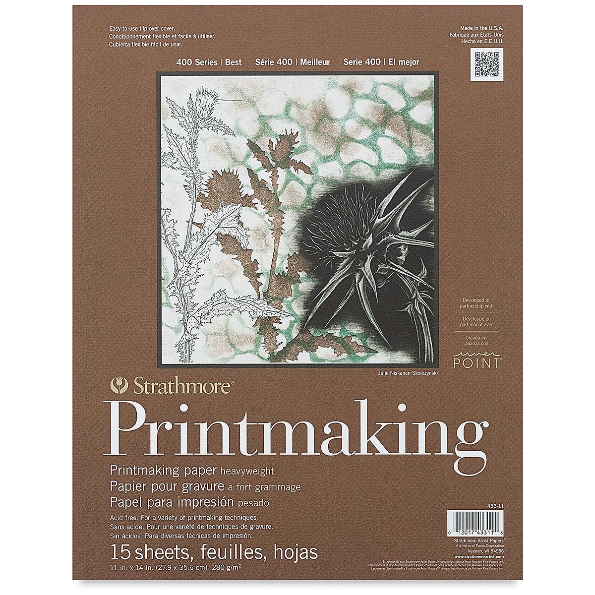 Strathmore 400 Series Printmaking Paper - 11 x 14, 15 Sheets