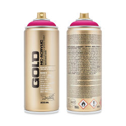 Montana Gold Acrylic Professional Spray Paint - 100% Magenta, 400 ml can