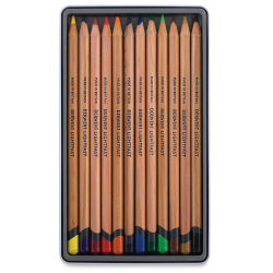 Derwent Lightfast Colored Pencil - Set of 12, Inside Packaging