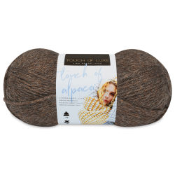 Lion Brand Touch of Alpaca Yarn - Wood