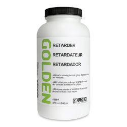 Golden Acrylic Retarder - 32 oz jar