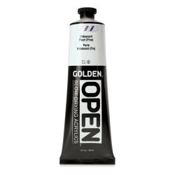 Golden Open Acrylics - Iridescent Pearl (Fine), 5 oz, Tube