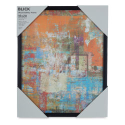 Blick Wood Gallery Frame - Black, 16'' x 20''